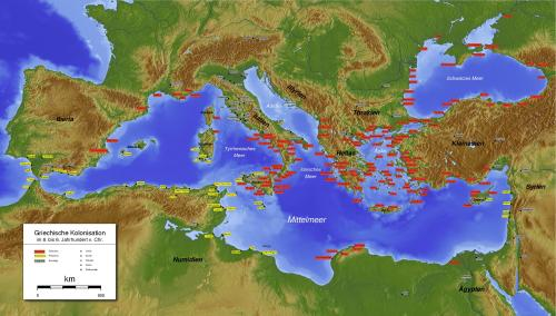 Greek Phoenician colonization