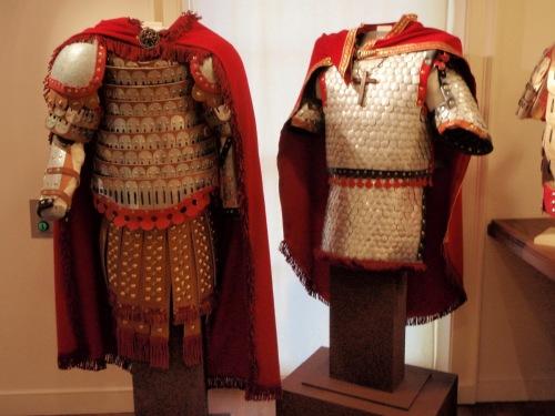 Byzantine armor(Dumbarton  oaks)