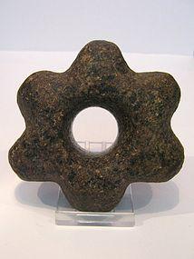 inca 6-pointed star mace head2