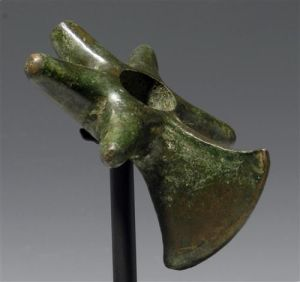 Inca Copper Star Mace Head