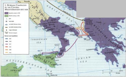 Byzantine vs Norman