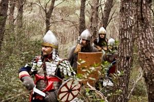 Byzantines advancing