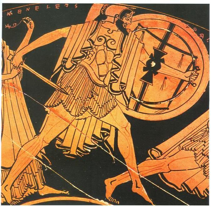 The Hoplite Shields Delving Into History Periklis Deligiannis