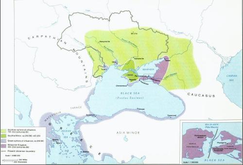 ΤΗΕ  BOSPORAN  KINGDOM  (CIMMERIAN  BOSPORUS)  –  PART  I