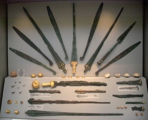 Mycen weapons