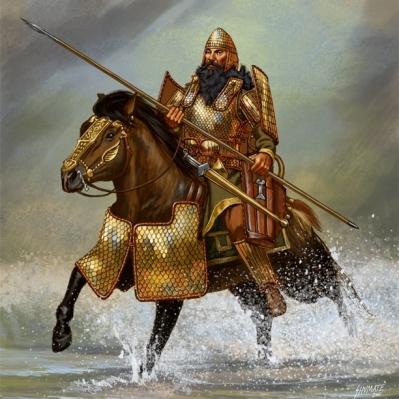 Skythian warlord
