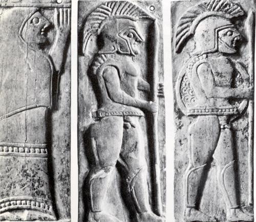 Spartan hoplites c.600 BC