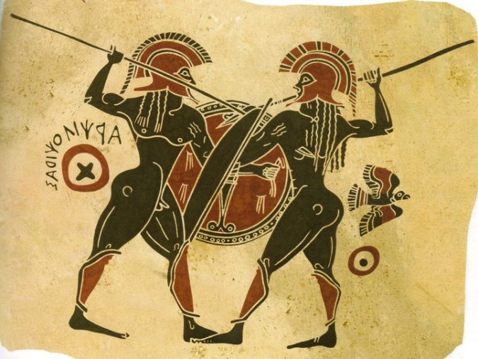 Image result for Ancient Greek Spartan vase