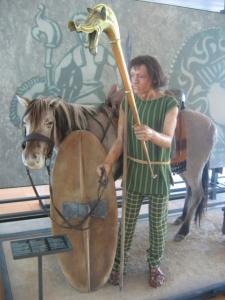 Eduen leader Dumnorix. National Museum of Celtic civlisation, Bibracte, France.