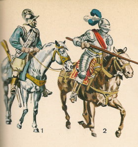 mounted-harquebuzier-and-lancer1