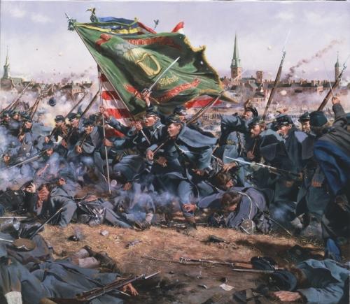 Irish Brigade at Gettysburg