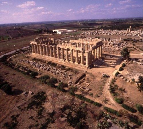 Tempio E  Selinute