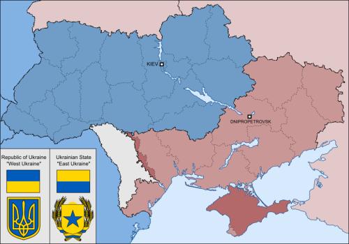 ukraine divided