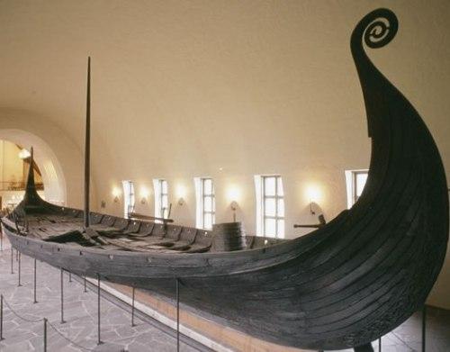 oseberg viking ship