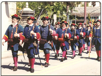 18th Century Spanish colonial Soldiers (Florida)