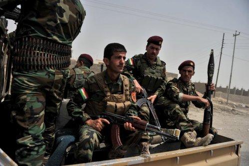 kurd forces