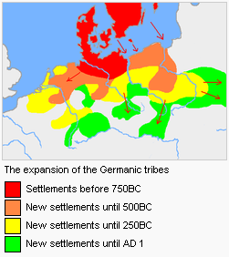 germanic expansion