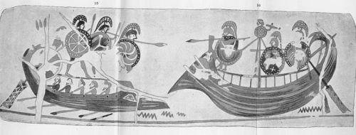 Aristonothos vase 700-650 BC