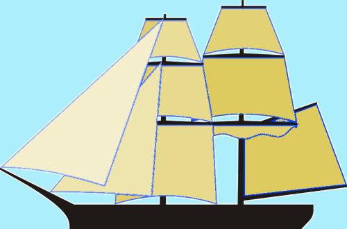 Brig sails