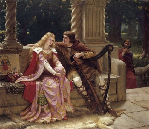Tristan and Isolde- Edmund Blair Leighton