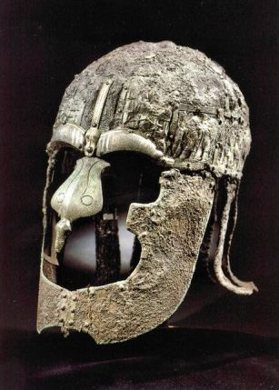 01 Helmet from Vendel Cemetery,burial XIV