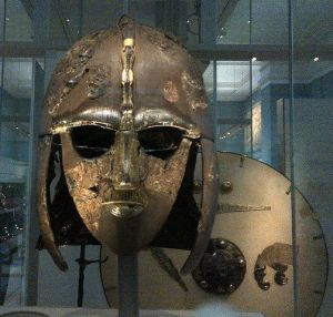 31 Anglo-Saxon Helmet from Sutton Hoo
