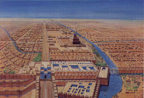 On the military architecture of babylon during for Arquitectura babilonica