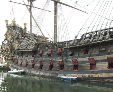 Neptune Spanish galleon