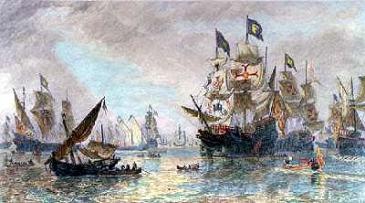 spanish armada leaving ferroll