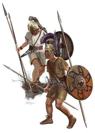 Iberian warriors