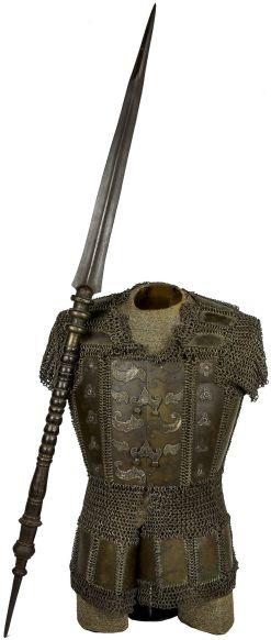 Moro spear+armor