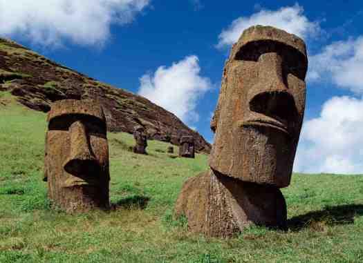 Moai,RANO RARAKU