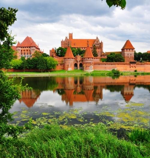Marienburg MalborkCastle built by Teutonic knights
