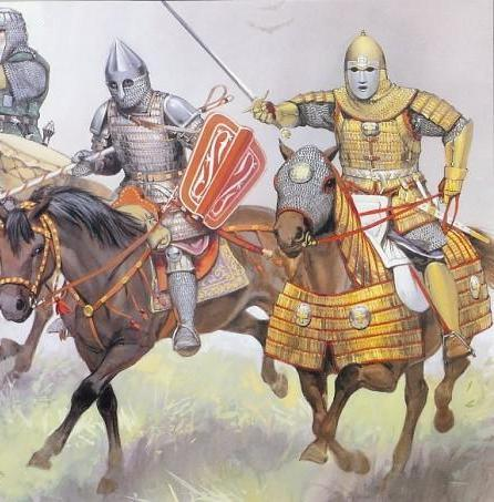 Russian cataphracts