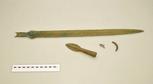 3000-year-old sword discovered in north-east Bohemia